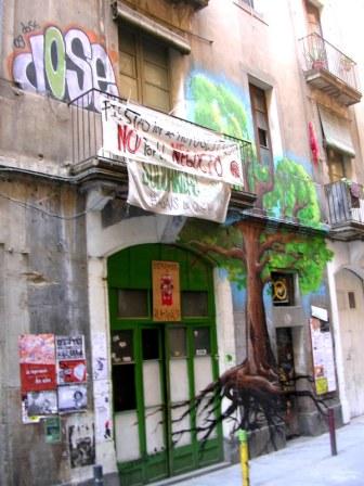 Barcelona squatcenter Ruina_Amalia ..now evicted
