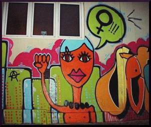 The Free image 9 feminist graffiti