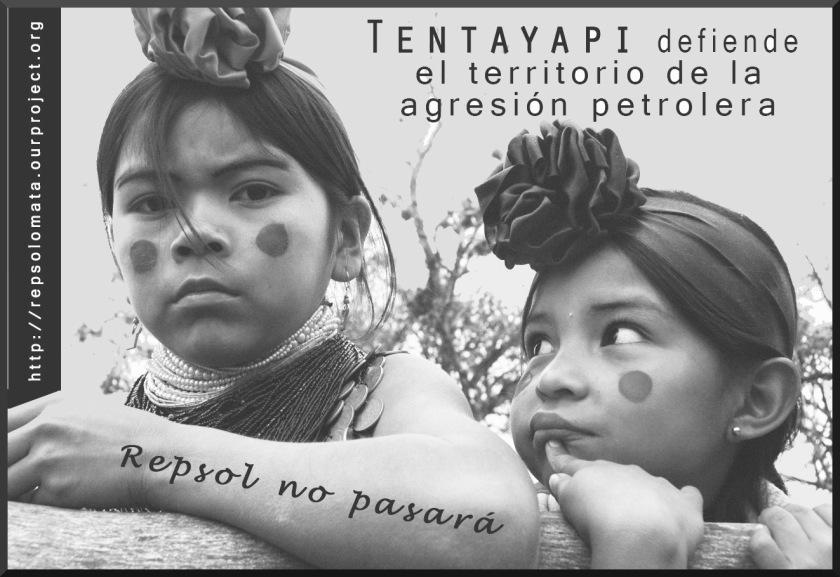 indigenous people resist Repsol