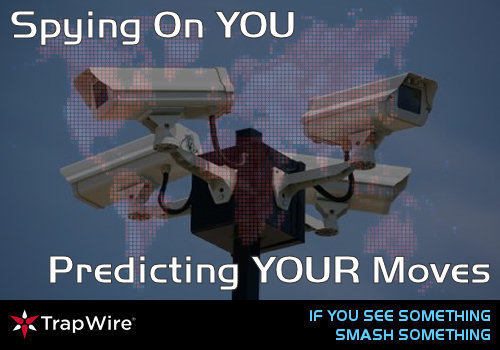 Trapwire is watching us... Wikileaks vs. the CIA.. 'Smash A Cam Saturday' (1/4)