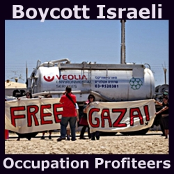 Boycott Israeli Occupation Profiteers