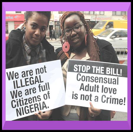 stop anti gay law in Nigeria