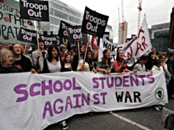 schoolkids against war