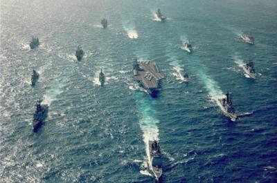 USS Eisenhower.. Mobile Massacre Group