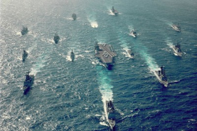 USS Eisenhower.. Mobile Massacre Group