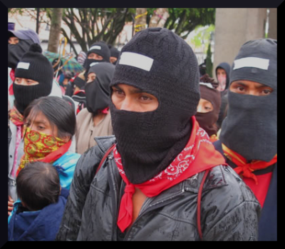 zapatista march