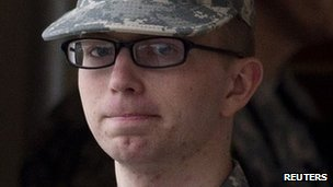 Bradley Manning. Life in Jail for telling the terrible truth