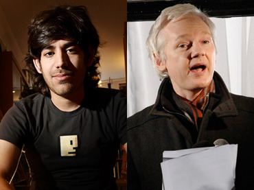 Julian Assange still held on remand as coronavirus spreads through UK prisons Assange-julian-aaron-swartz-n