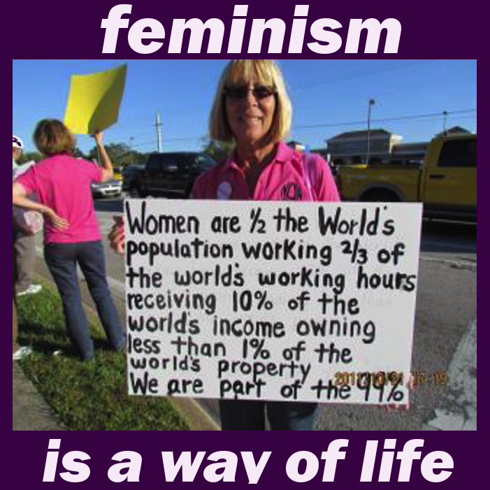 feminism is a way oif life