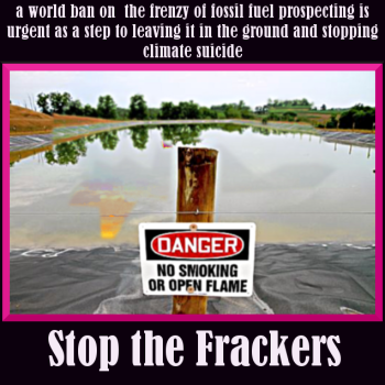 #Fracking Spain Report: Millionaire exposes himself in Public