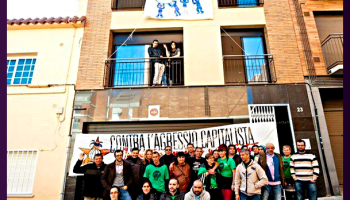 Barcelona: Evicted families take 6 bank-owned blocks
