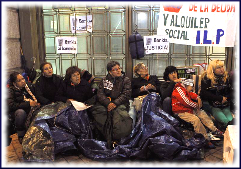 occupy Bankia