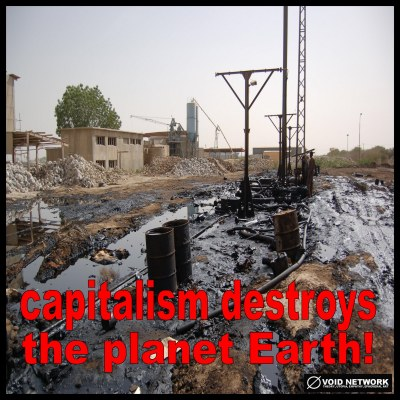 Climate Change Capitalism Destroys the Planet Earth