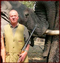 King Joan Carlos, sacked as president of WWF for hiunting elephants, may soon be sacked as King for blatant family Corruption