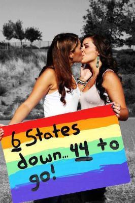 Lesbian marriage