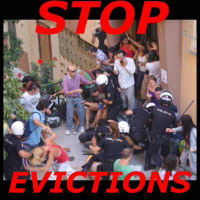 stop evictions