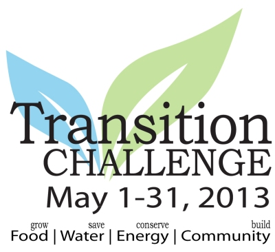 During the month of May, take action to enhance local food systems, conserve energy and water, and build community resilience.