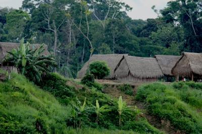 village in Las Piedras area