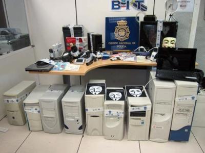 material robado por la policia hace 2 años