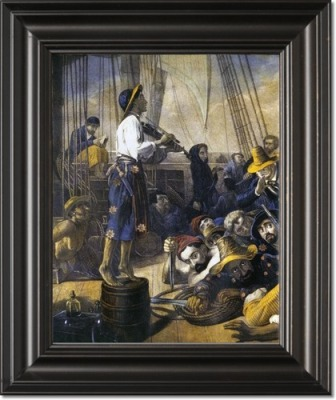 auguste-francois-biard-pirates-dressed-as-women-to-decoy-merchantmen-19th-century-framed