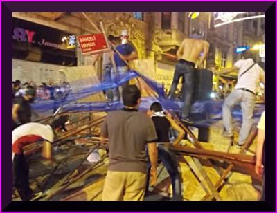 barricade Taksim 23.06.13