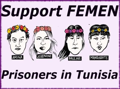 Femen prisoners