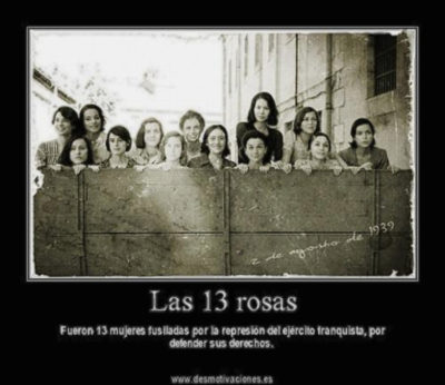 13 women summarily executed by previous far right Spanish government