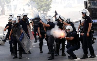 TURKISH COPS FIRED 200,000 TEAR GAS GRENADES.. FAILED TO CLEAR STREETS