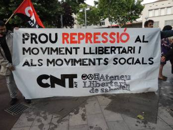 Stop repression of anarchist and Social Movements