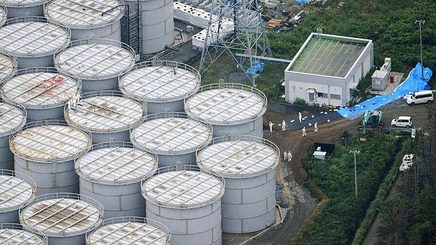 By now the whole Fukushima site is packed with tanks of ultra high radioavtive water from cooling the melted down reactors, causing a new nightmare as many begin to leak.