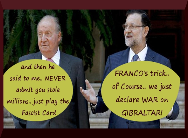 Rajoy's Spanish Mafia plays the Fascist Card