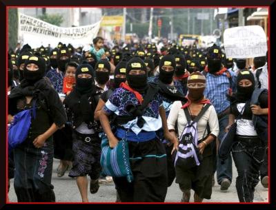 zapatista march