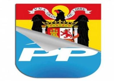 peel off PP party sticker as politicians revive fascist insignia