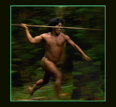indigenous hunter