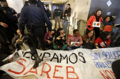 PAH activists on trial over protest sit-in at the 'bad Bank'