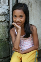 a Leyte Island youngster