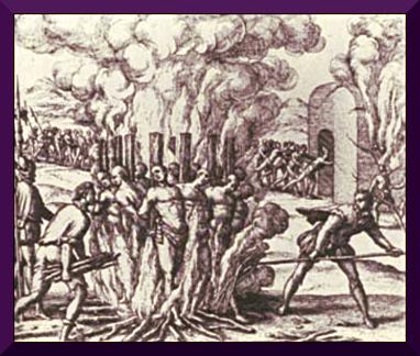 The american holocaust, promoted by Juníper Serra
