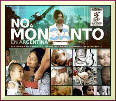 Glyphosate poisoning from crop spraying has led to an epidemic of toxicity diseases, cancers and deformities in Argentina