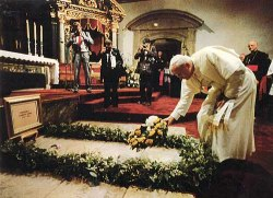 beatifiucation of Fray Juníper Serra. A nun claimed to have been cured by his ghost.