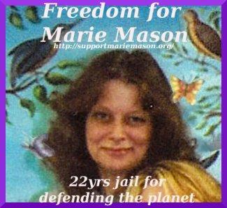Marie Mason sticker