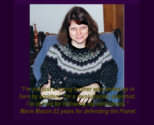 Marie Mason with cat