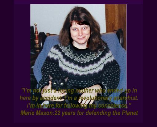 Marie Mason with cat