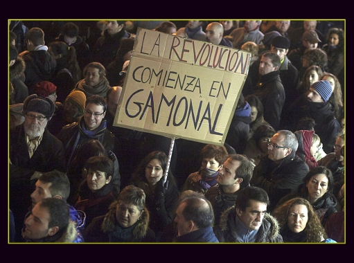Solidarity demos in support of arrested in Gamonal spread to 46 Spanish cities
