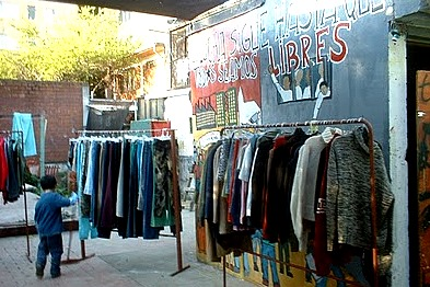 free shop in a spanish anarchist center