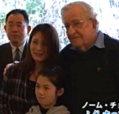 march 14 chomsky in japam