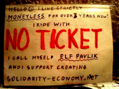 elf tries train travel with this 'free pass'