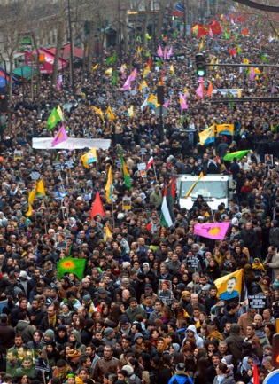 FRANCE-CRIME-KURDS-TURKEY-PROTEST