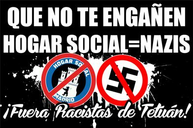 Don't Let them Fool You.. Racists OUT of Tetuan barrio