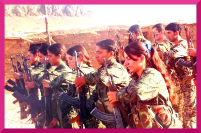 kurdish YPG women