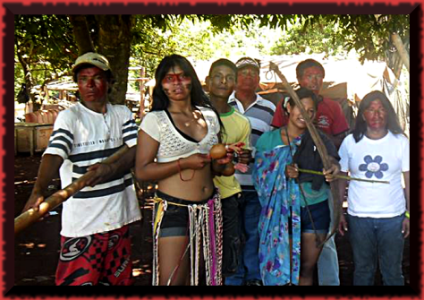 Marinalva Manoel was stabbed to death after campaigning for her tribe's ancestral land.